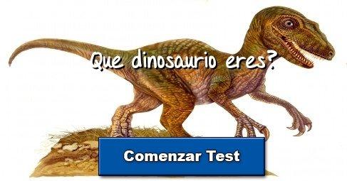test que dinosaurio eres